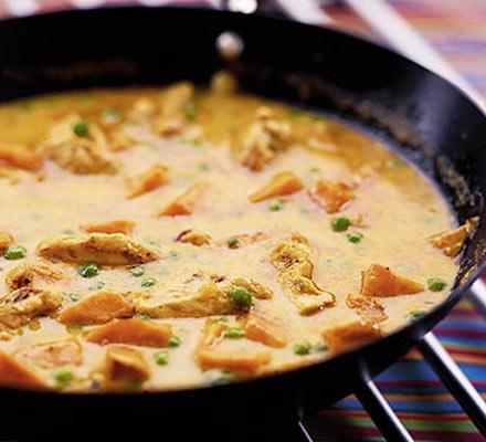 Coconut chicken curry recipe paleo